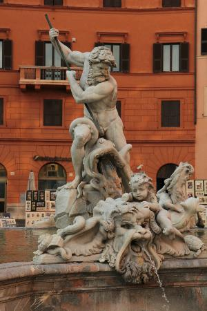Fountain of Neptune at Piazza Navona