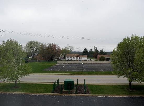 BEST WESTERN Westgate Inn: The view from our window, lol