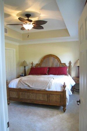 master bedroom in terrace palms