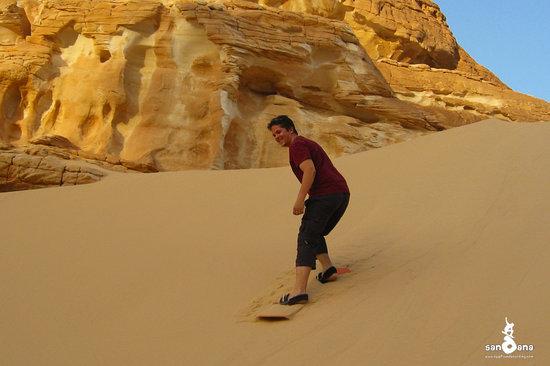 Sandana Sandboarding: Sandboarding Sinai 3 Aug 2010, El Safra Dune, St. Catherine/Dahab 2