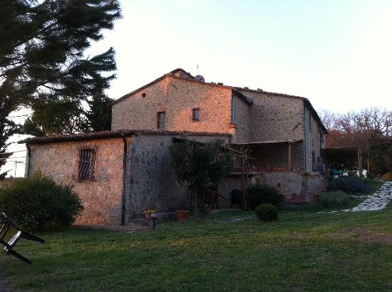 Agriturismo Apparita: The view from the other side ...
