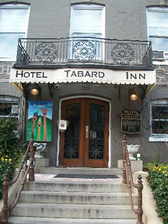Tabard Inn: Front of the Inn