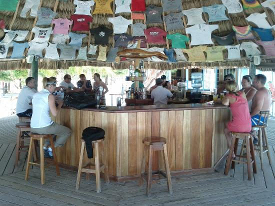 Coco Plum Island Resort: the bar