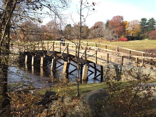 Minute Man National Historical Park: North Bridge