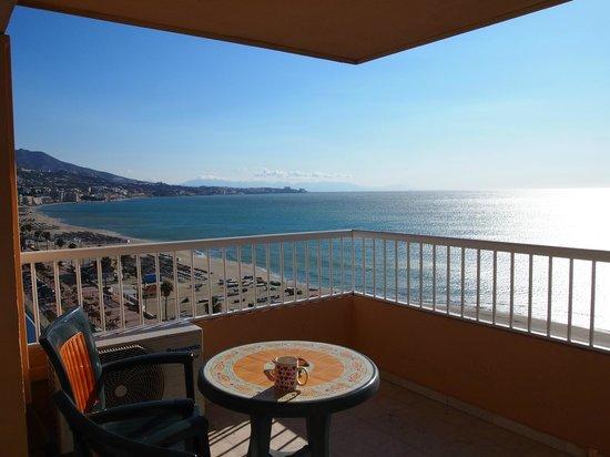 Apartamentos La Jabega: Balcony - east