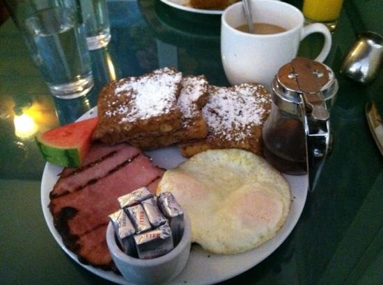 Green Springs Inn: French Dan breakfast!  Delicious!