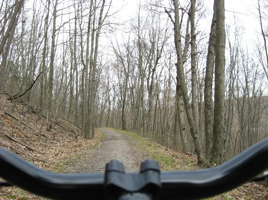 Pocono Biking: Early spring