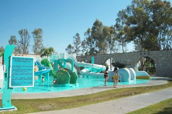 Aguascalientes, Mexico: Kid pool for slides