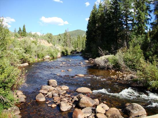 Diamond J Ranch : Frying Pan River borders Ranch on lower level