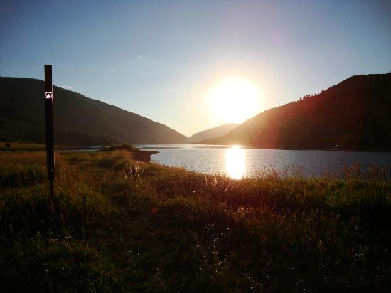 Diamond J Ranch: Ruedi Reservoir by Ranch for boating, swimming and fishing