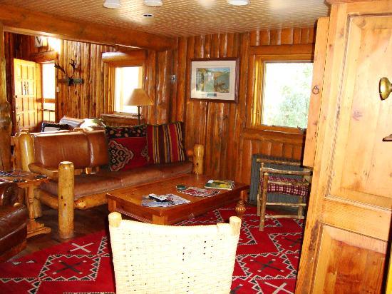 Diamond J Ranch : Part of the main lobby of the Lodge