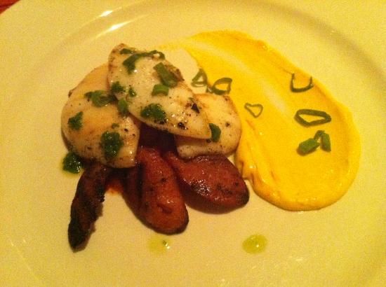 Arajilla Restaurant: Cuttlefish with Chorizo