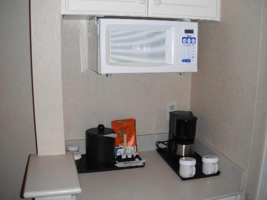 Hilton Garden Inn Flagstaff: Microwave