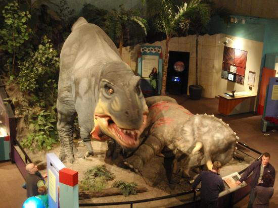 Saint Louis Science Center: dinos