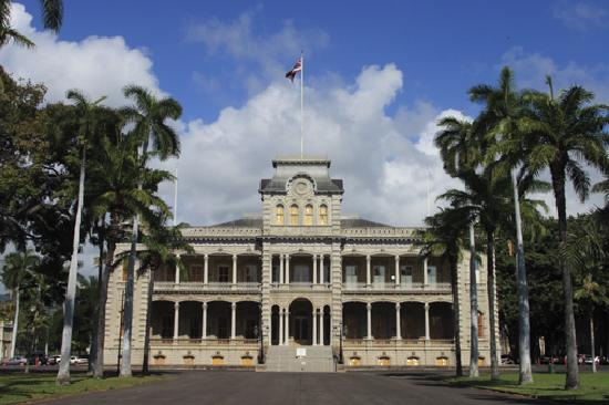 Honolulu, Hawái: Iolani Palace