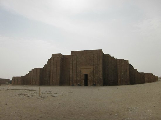 Saqqara, Egipto: Entrance of the Temple