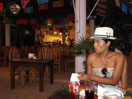 Rocio from Villa Experience Mexico at Restaurant Jardin del Eden, Troncones