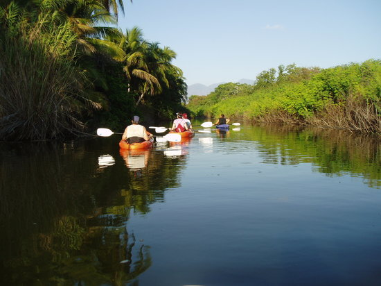 Guerrero, Mexico: KAYAK SURROUNDED BY NATURE