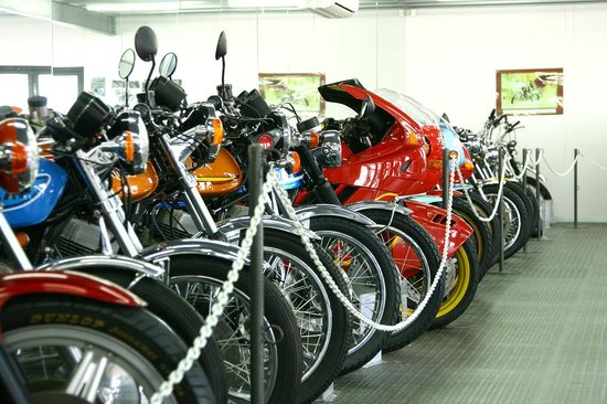 Powerhouse Motorcycle Museum: Motorcycle collection
