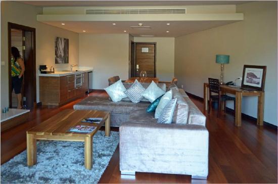 Chapmans Peak Beach Hotel: Penthous suite lounge