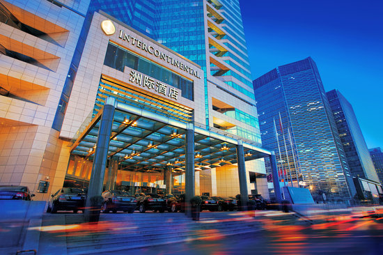 InterContinental Beijing Financial Street: Hotel exterior
