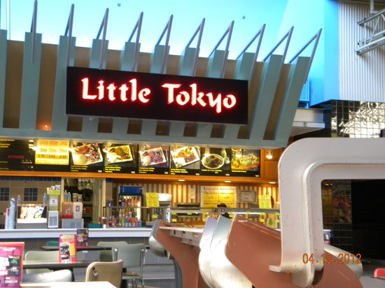 Little Tokyo : Located inside Gurnee Mills Mall food court