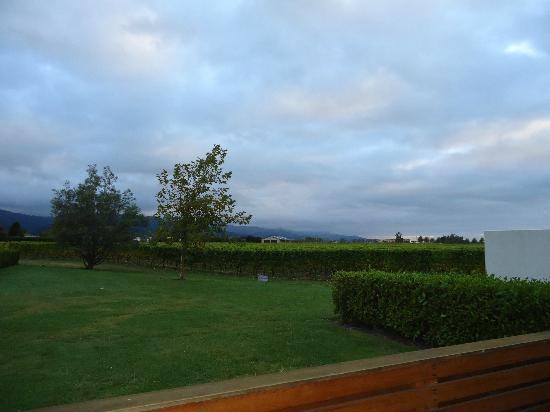 Marlborough Vintners Hotel: The view from private deck