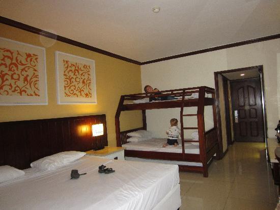 Family Room Picture Of Bali Garden Beach Resort Kuta Tripadvisor