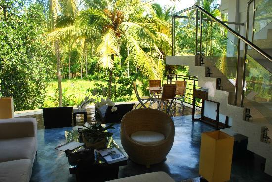 Villa Sancita: living area 1