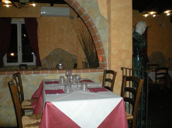 La Taverna del Grillo: l'interno