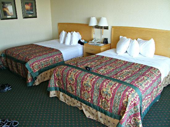 Embassy Suites by Hilton Niagara Falls Fallsview Hotel: Habitación con 2 camas queen