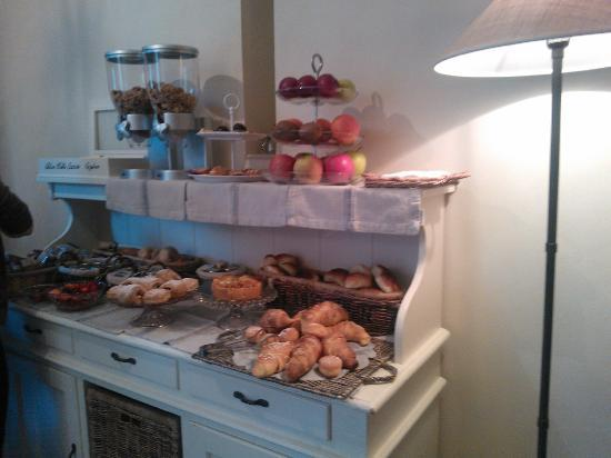 Villa Magnolia Relais: Breakfast