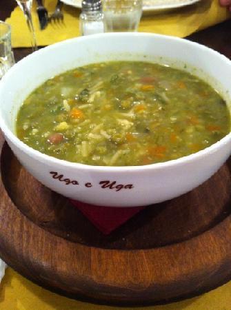 Trattoria Ugo e Uga: IL minestrone alla genovese