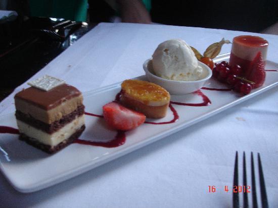 Restaurant RED: Dessert