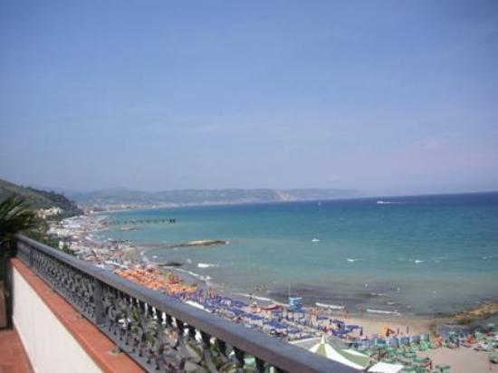 Residence Moresco : vista dal terrazzo