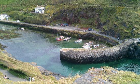 Boscastle, UK: The harbour