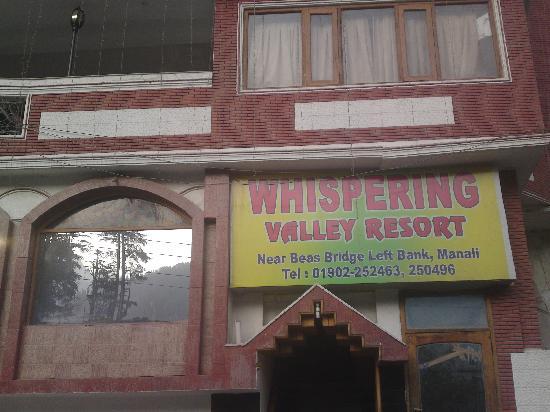 Whispering Valley Resorts: main entrance