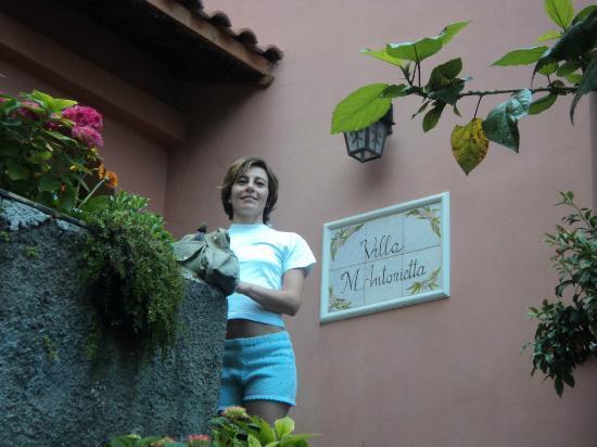 Villa Maria Antonietta: Ingresso del B&B