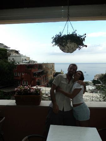 Villa Maria Antonietta: Terrazza dove viene servita la colazione