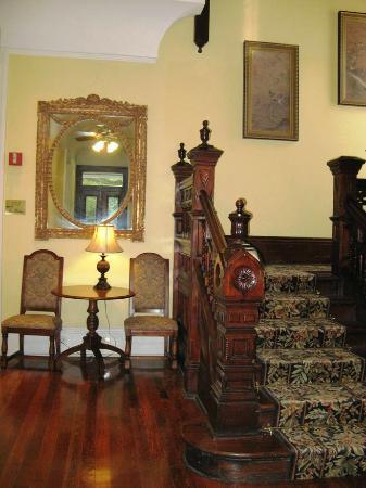Queen Anne Hotel: Eingangsbereich