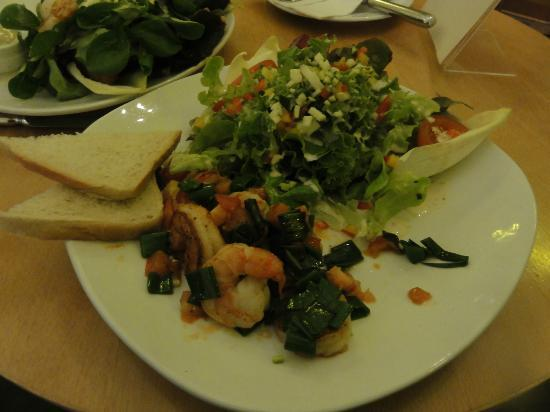 Zur Steipe: Salade de crevettes