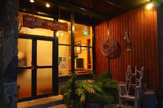 Lake Ohau Lodge: entrance