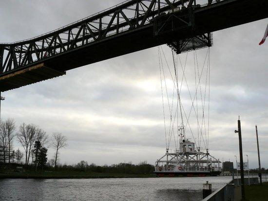 Rendsburg Transporter Bridge (Schwebefaehre): Schwebefähre Rendsburg