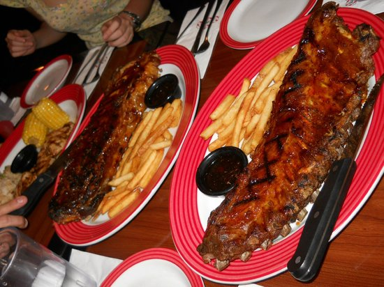 TGIF Jack Daniels Ribs full racks