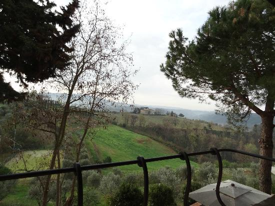 Salvadonica - Borgo Agrituristico del Chianti: View from our room.....