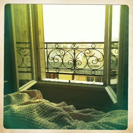 Ermitage Hotel Sacre-Coeur: Blick aus unserem Fenster