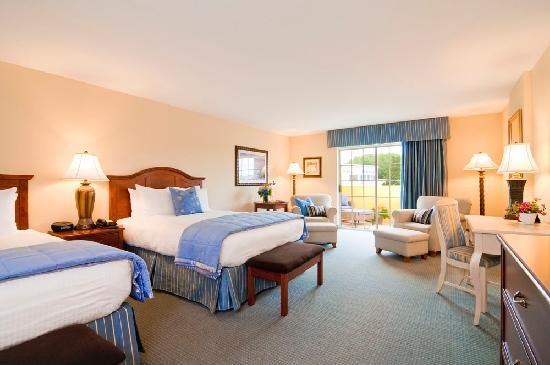 Hotel Rehoboth: Queen- Queen guest room