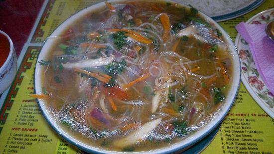 Kunga Restaurant: Chicken Phing..