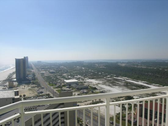 Palacio Condominiums: View to the West from SW balcony