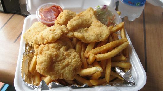 Ocean's Seafoods : My Fried Fish Basket